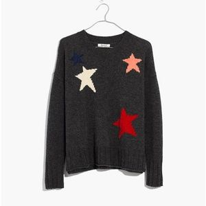 Madewell Starry Night Pullover Merino Wool Sweater